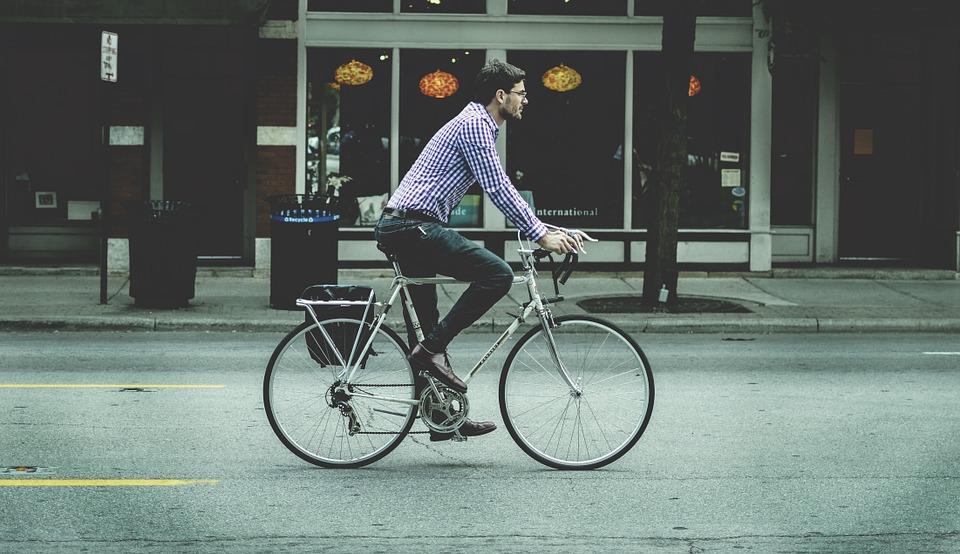 Reducir el estrés montando en bici